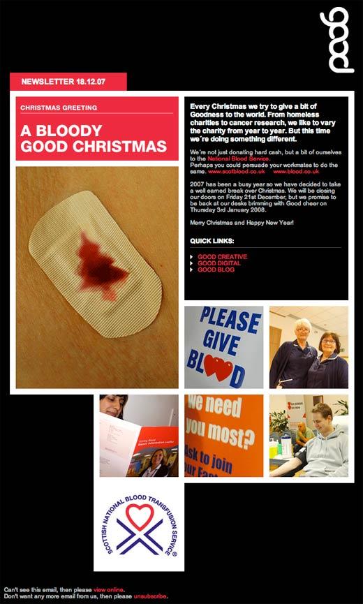 Good Creative's Bloody Good Christmas