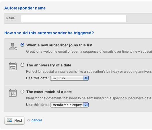 3 ways to trigger an autoresponder