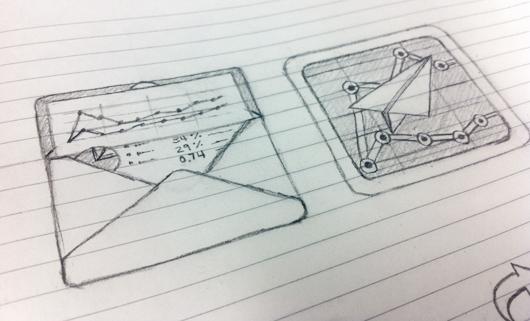 iOS icon sketch
