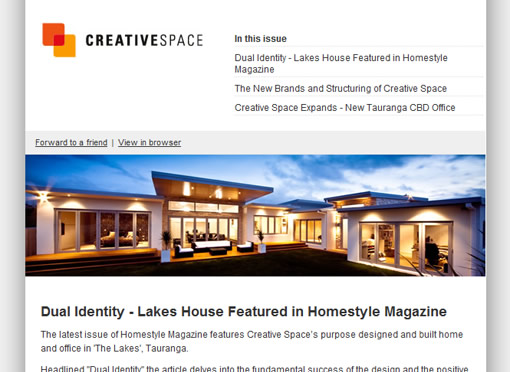 Creative Space email