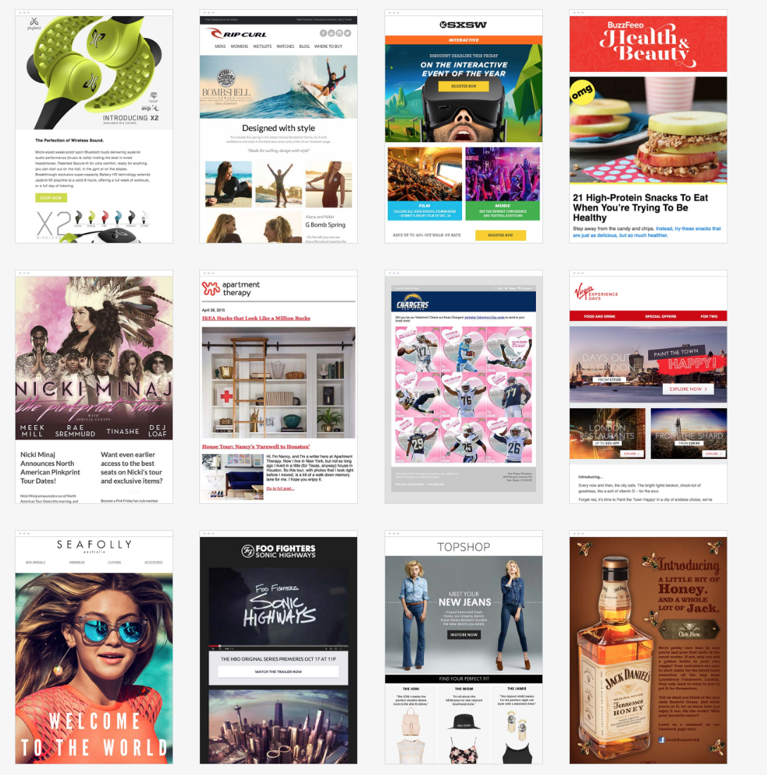 The Top 100 Email Marketing Campaigns