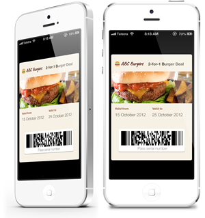 Passbook Pass on the iPhone
