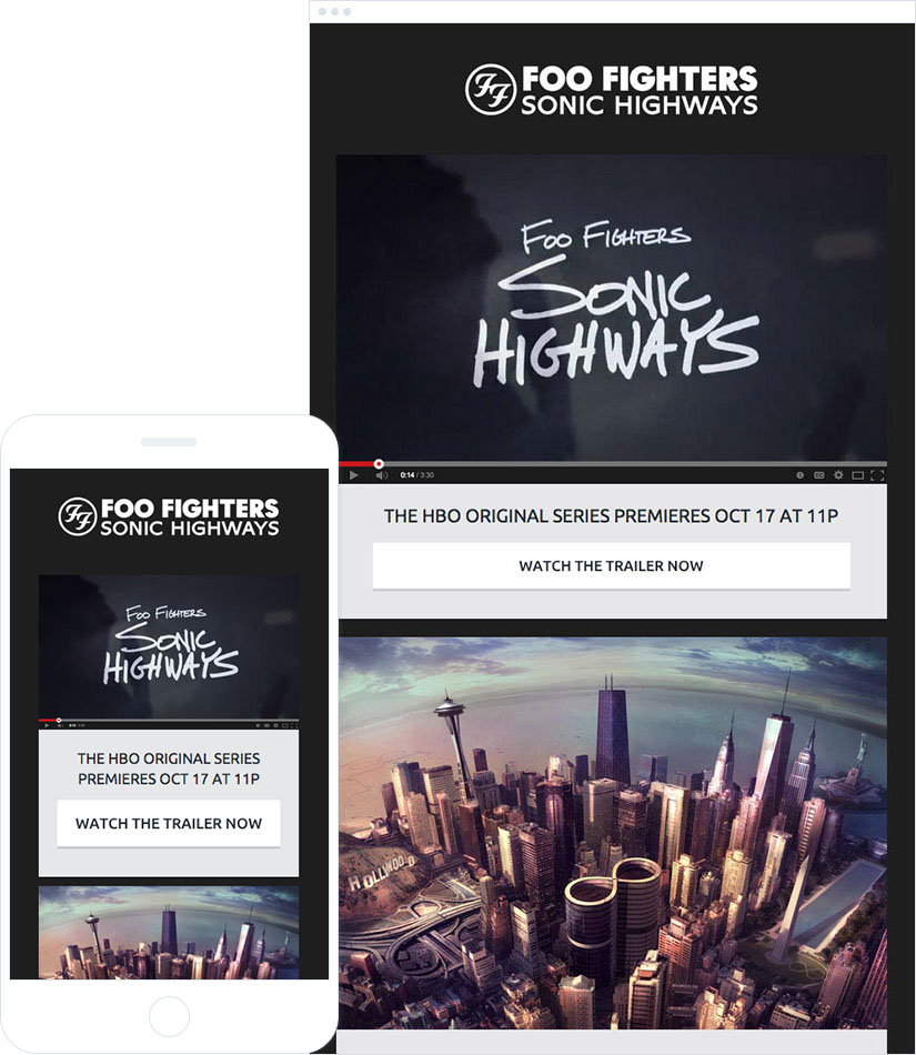 How the Foo Fighters Drummed Up Sonic Highways with Email Marketing