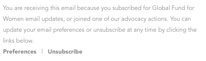 unsubscribe example